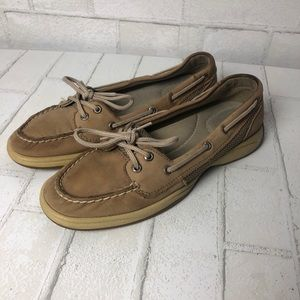 Sperry Top Sider Boat Shoes Flats 8.5